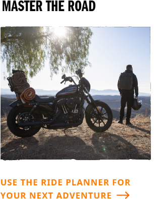 plan your next road trip with harley davidsons ride planner